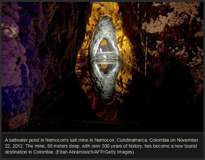 The Word's Coolest Salt Mines (31 pics)