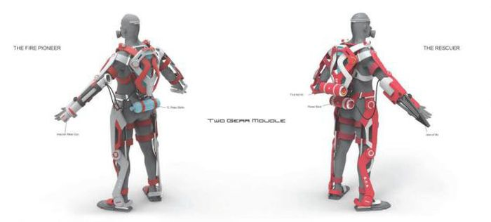 This Suit Will Make Firemen Unstoppable (10 pics)