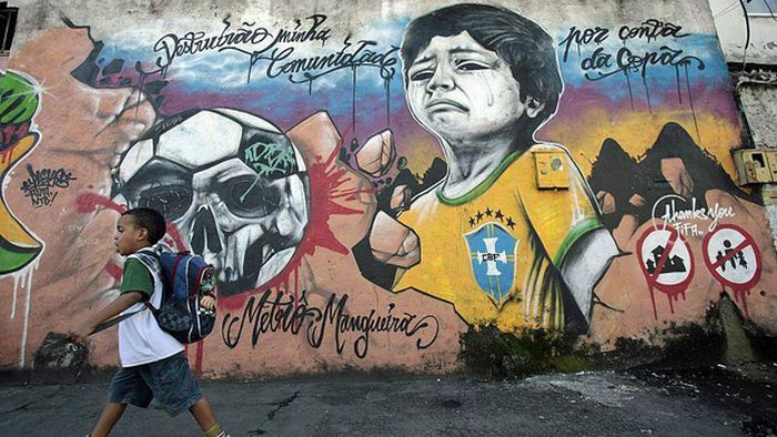 Brazilians Do Not Want The World Cup In Their Country (25 pics)