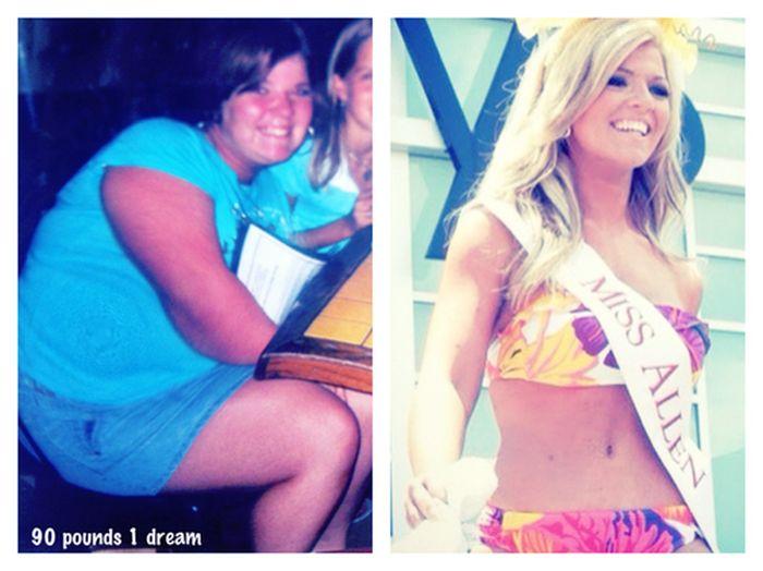 Keli Kryfko Went From Overweight To Beauty Queen (25 pics)