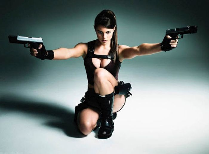 There's No Cosplay Like Lara Croft Cosplay (40 pics)
