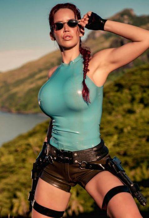 There's No Cosplay Like Lara Croft Cosplay (40 pics)