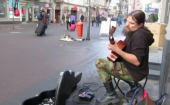 Amazing Street Musician Performance