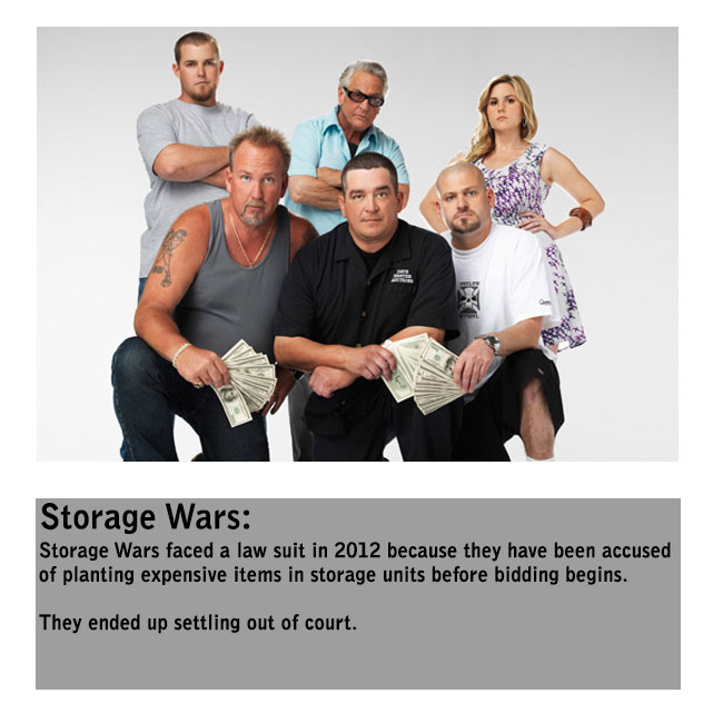 The Truth Behind Your Favorite Reality Shows (9 pics)