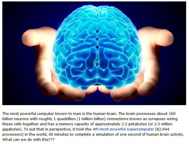 The Human Brain Is More Powerful Than You Know (8 pics)