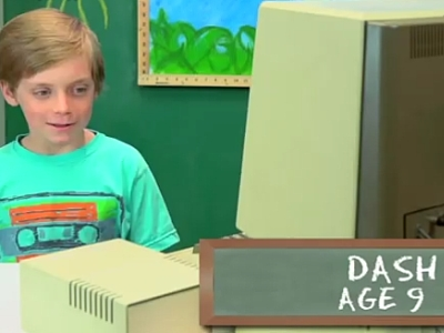 Kids React To An Old Computer