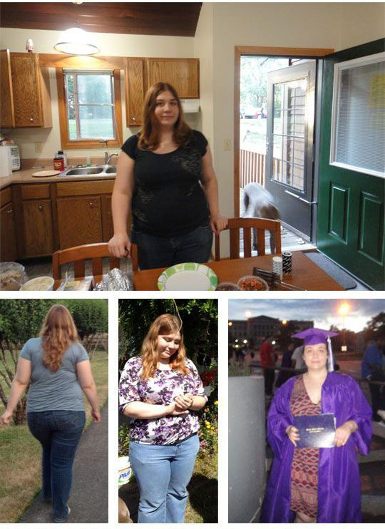 She Dropped 130 Pounds Now She Looks Brand New (12 pics)
