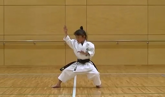 Amazing 7 Year Old Girl Shows Off Black Belt Skills