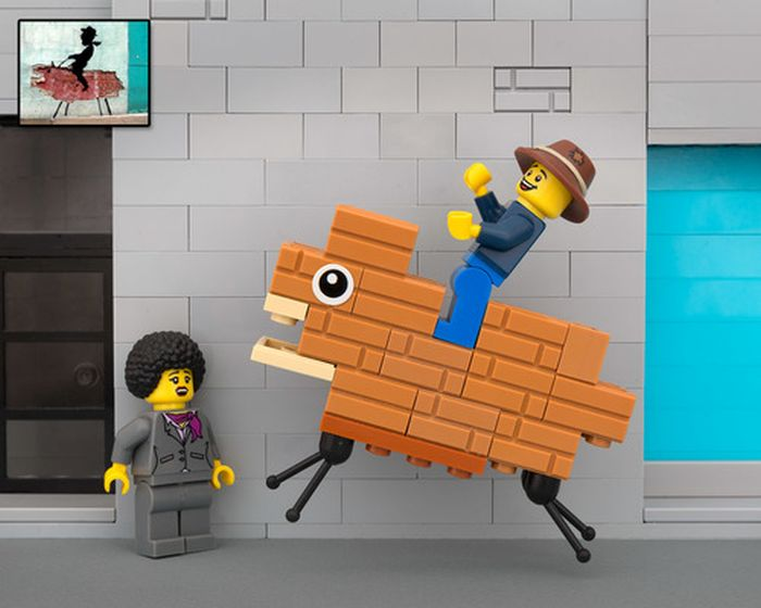 Amazing LEGO Street Art By Bricksy