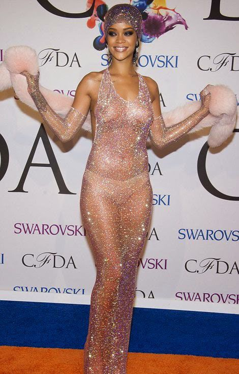 Rihanna's See Through Dress Is The Hottest Thing Ever (11 pics)
