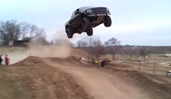 Crazy Way To Waste $55,000 Dollar Ford Raptor