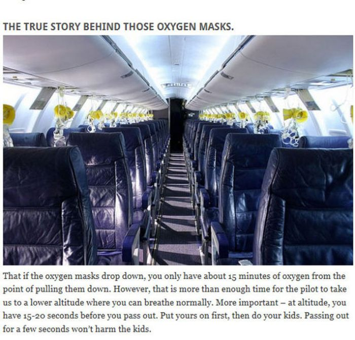 What Flight Attendants Won't Tell You About Flying (26 pics)