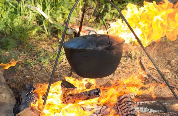 Epic Campfire Cooking Fail (16 pics)