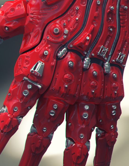The Coolest Robot Hand You Will Ever See (9 pics)