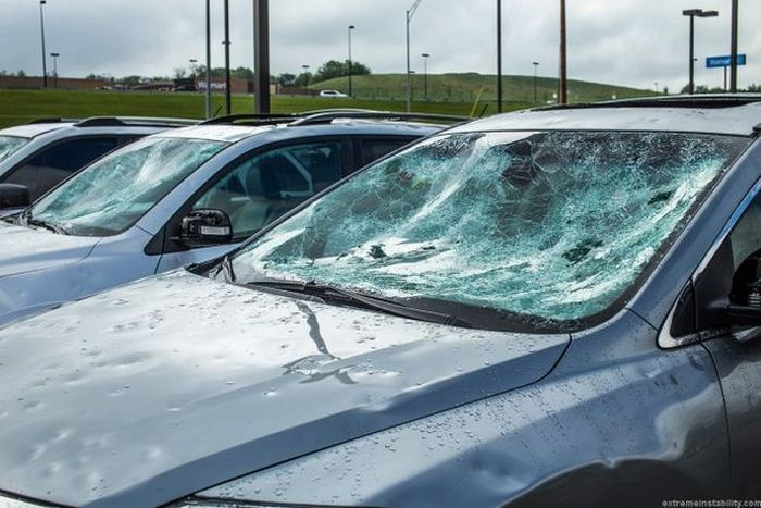 Epic Damage Can Be Done By Hail (23 pics)