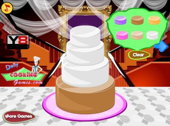 Big Fat Wedding Cake Deco