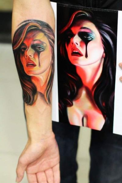 These People Definitely Picked The Right Tattoos (52 pics)