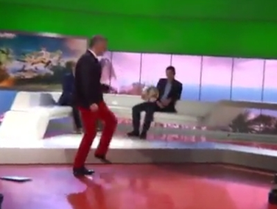 Epic Fail With A Ball In Studio
