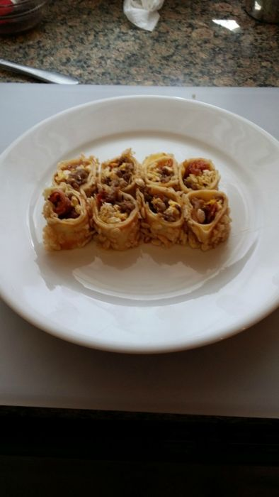 Breakfast Style Sushi (11 pics)