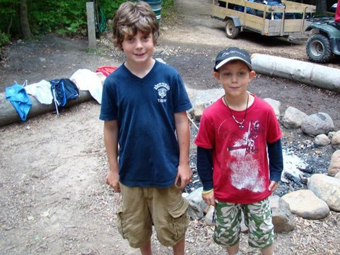 This Kid Had Bad Business Go Down At Camp (4 pics)