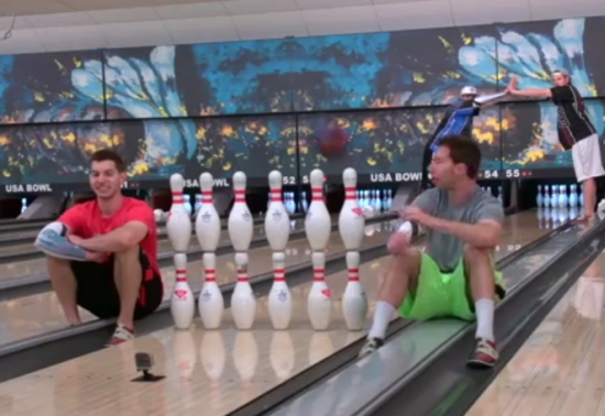 Number One Bowler In The World Shows Off Bowling Skills