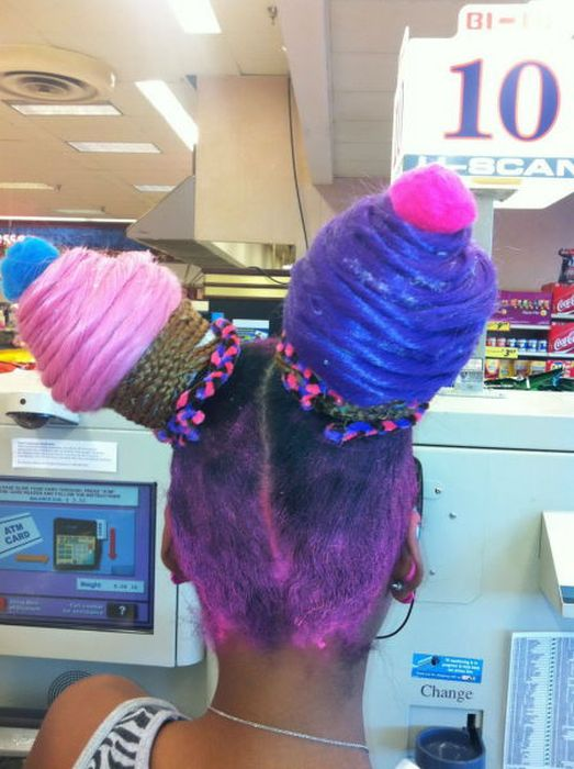 Awesome And Awful Hairstyles (56 pics)