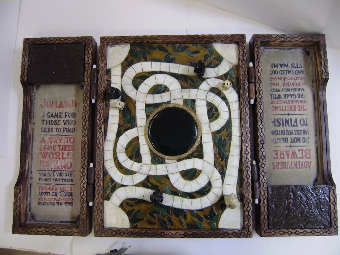 This Real Life Jumanji Board Is A Work Of Art (10 pics)