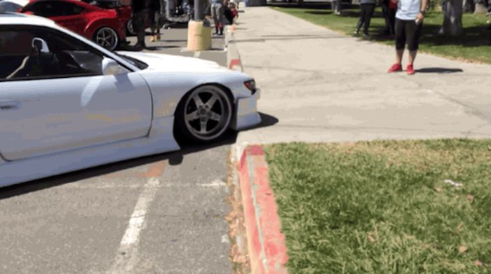 This Is Why You Don't Want A Lowrider (3 gifs)