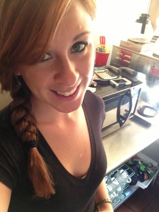 Girls Get Bored at Work. Part 7 (48 pics)
