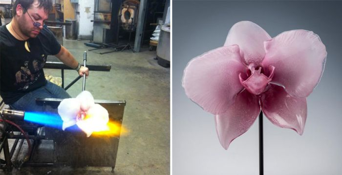 There Are No Flowers Like Glass Flowers (21 pics)