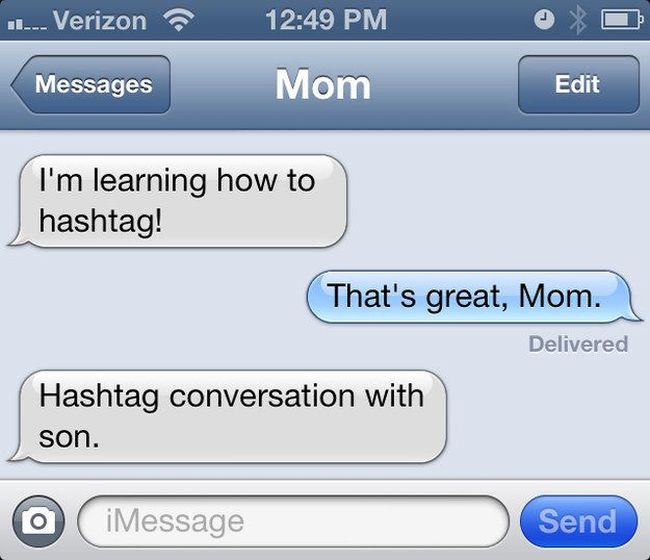 Please Someone Stop My Mom From Texting (23 pics)