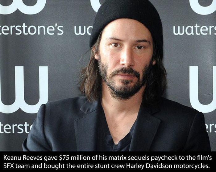Amazing And Generous Gestures From Famous Celebs (21 pics)