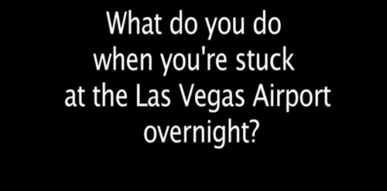 Funny Music Video Made By A Guy Stuck In Las Vegas Airport