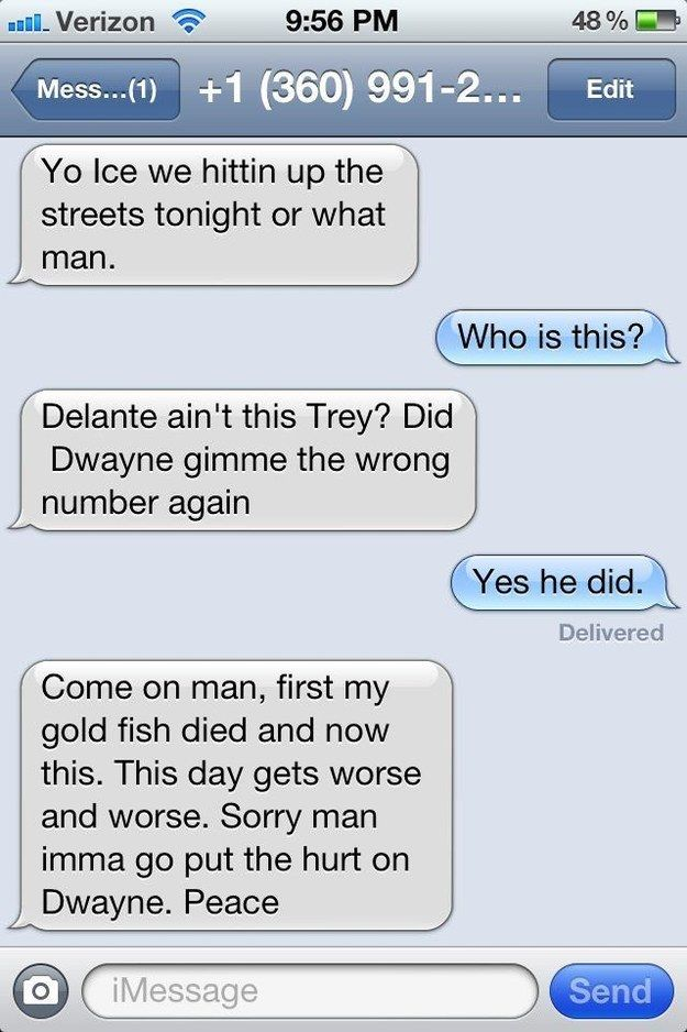 The Best Way To Respond To A Wrong Number Text (26 pics)