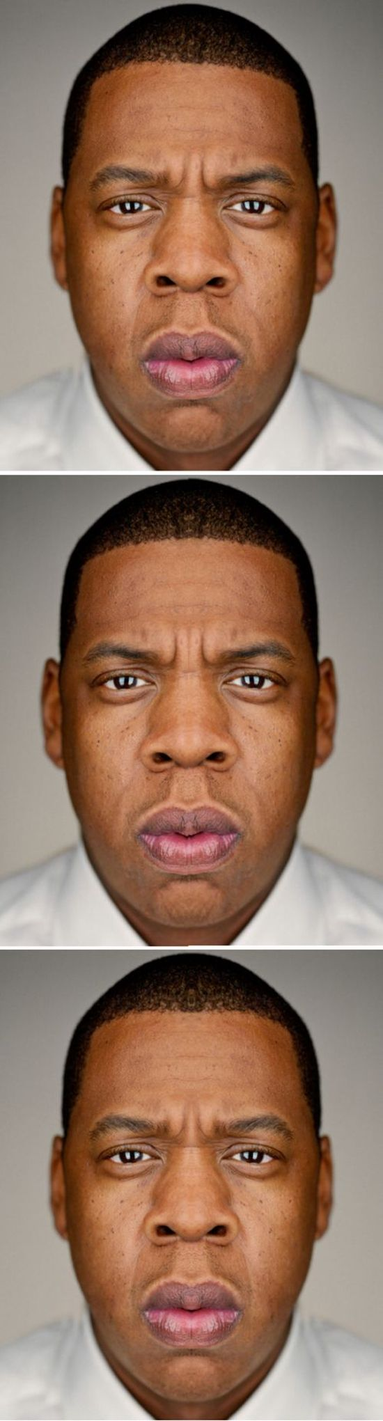 Symmetrical Faces Of Celebrities Are Quite Creepy (10 pics)