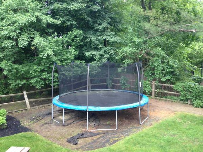 This Is Why We're Selling The Trampoline (6 pics)