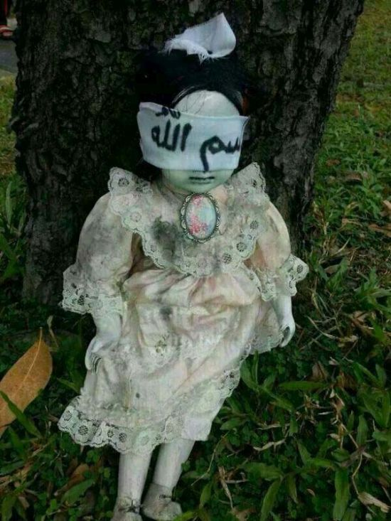 Is This Doll Cursed? (3 pics)