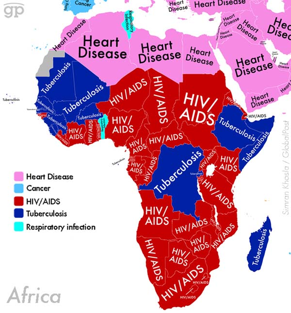 The Most Common Causes Of Death Around The World (6 pics)