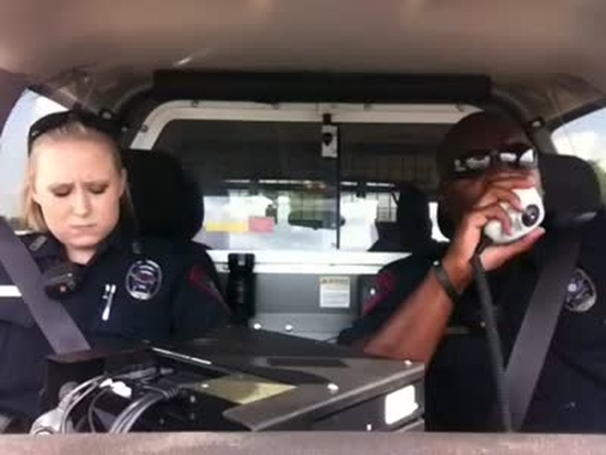 Police Officers Have Fun Singing Katy Perry