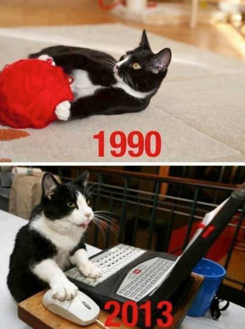 The Big Differences Between The 90s And Today (31 pics)