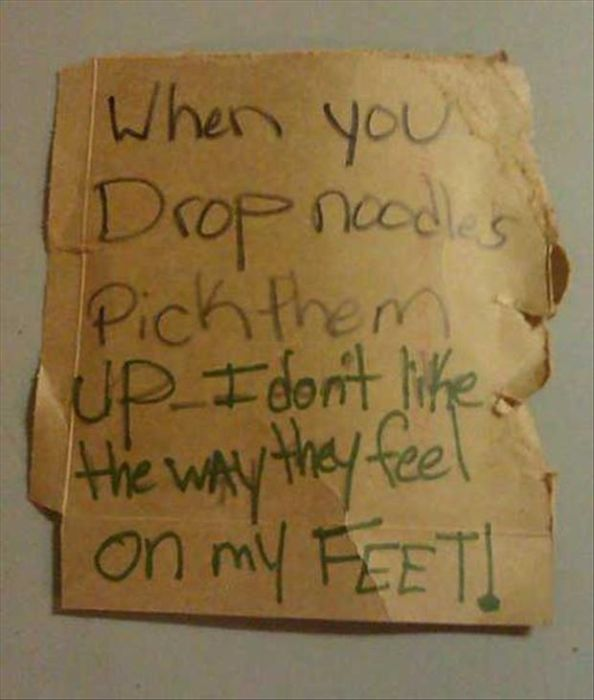 The Best Notes A Roommate Could Leave (25 pics)