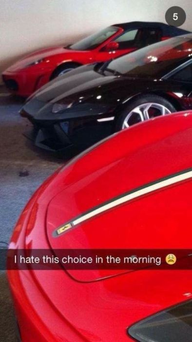 This Is How Rich Kids Use Snapchat (61 pics)