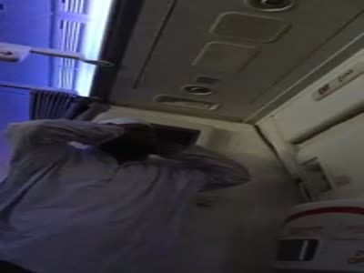The Worst Way To Be Woken Up In An Airplane