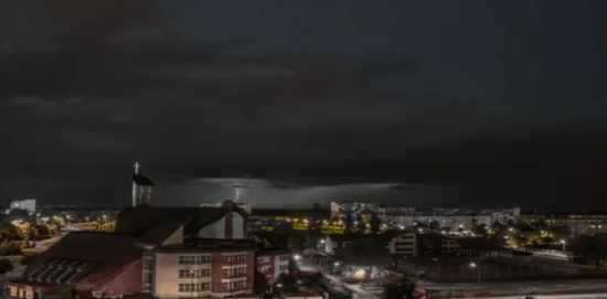 Amazing Footage Of A Storm In Poland