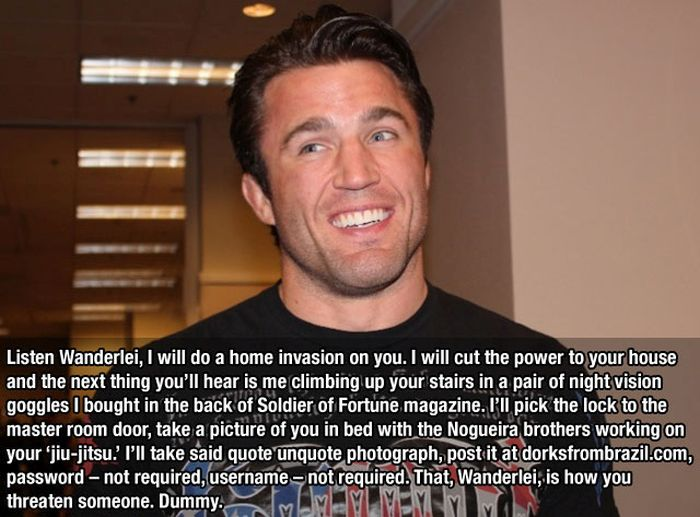 10 Hilarious Quotes From Chael Sonnen (10 pics)