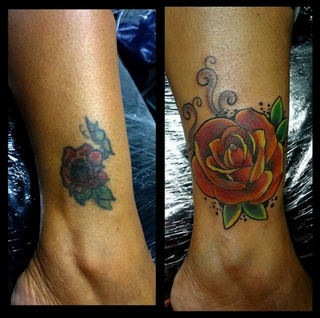 These Terrible Tattoos Turn Into Something Epic (33 pics)