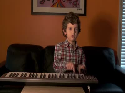 5-Year-Old Kid Makes A Rap Song