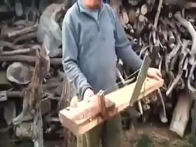 Cutting Wood Like A Boss