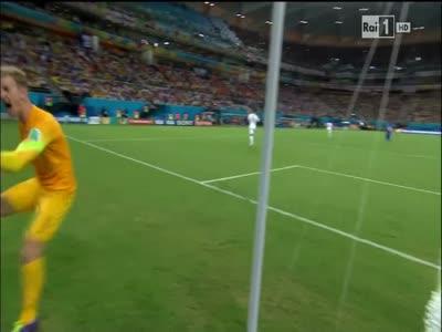 Reaction From England's Goalie Joe Hart