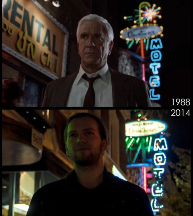 Famous Movie Sets Then And Now (16 pics)